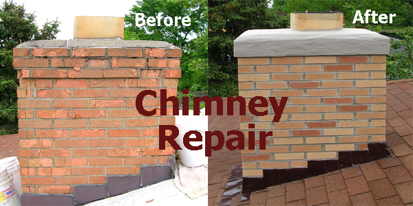 Cleveland Area Masonry Concrete Chimney Contractor